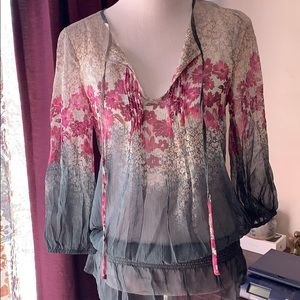 Sundance silk top